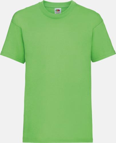 Lime T-shirt barn - Valueweigth barn t-shirt