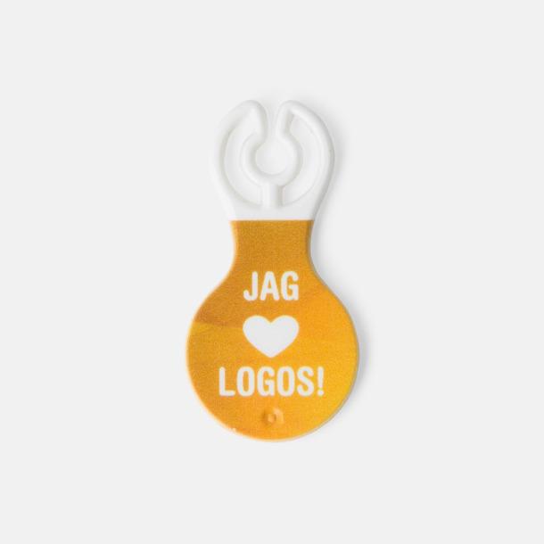 Med reklamlogo Kundvagnsmynt i SEK, NOK, DKK & Euro-format med reklamtryck