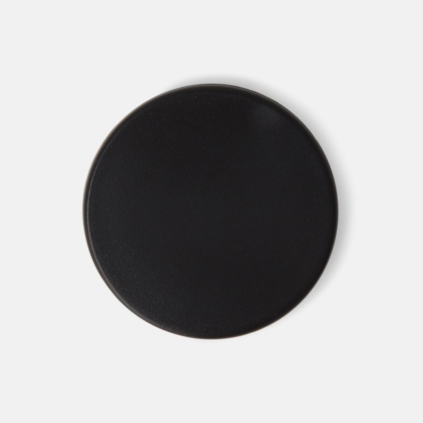 Svart (endast ø 40 mm) Kylskåpsmagneter med tryck