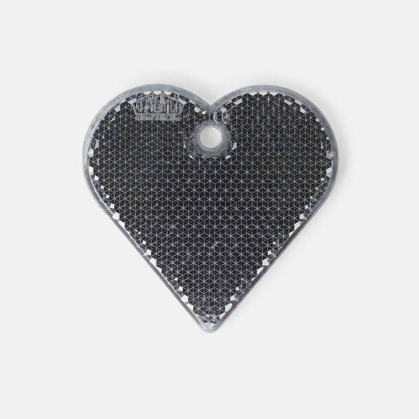 Hjärta (grå) En hängreflex i mängder av olika former och färger