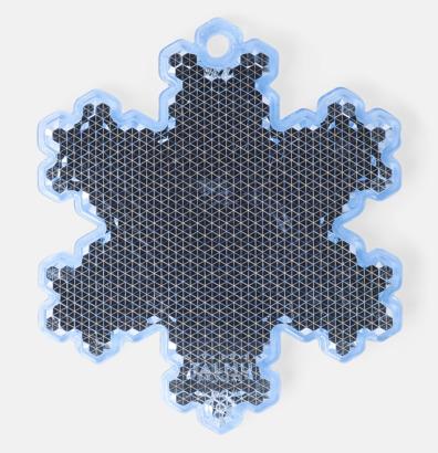 Snöflinga (blå) En hängreflex i mängder av olika former och färger