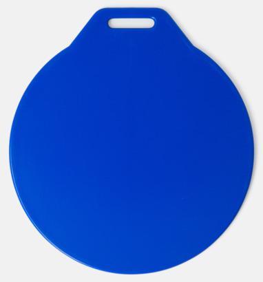 Blå Klassiska bagbrickor med reklamtryck