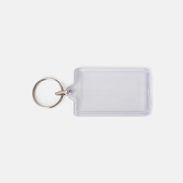 Öppningsbara plastnyckelringar med reklamtryck