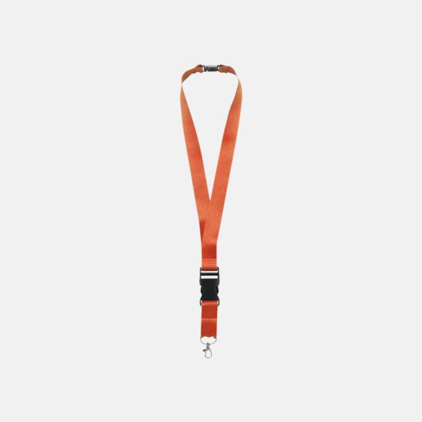Orange Snabba logoband med eller utan reklamtryck