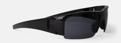 Svart Reklamglasögon med tryck