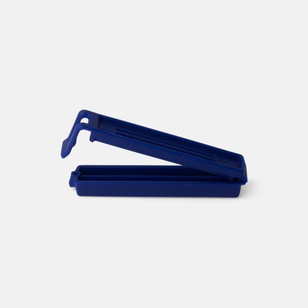 Blå (80 mm) Påsklämmor i 4 storlekar med reklamtryck