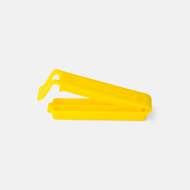 Gul (60 mm) Påsklämmor i 4 storlekar med reklamtryck