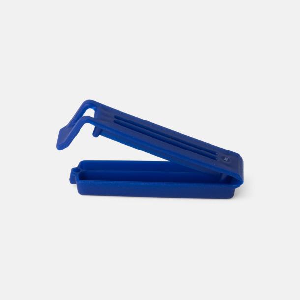 Blå (60 mm) Påsklämmor i 4 storlekar med reklamtryck