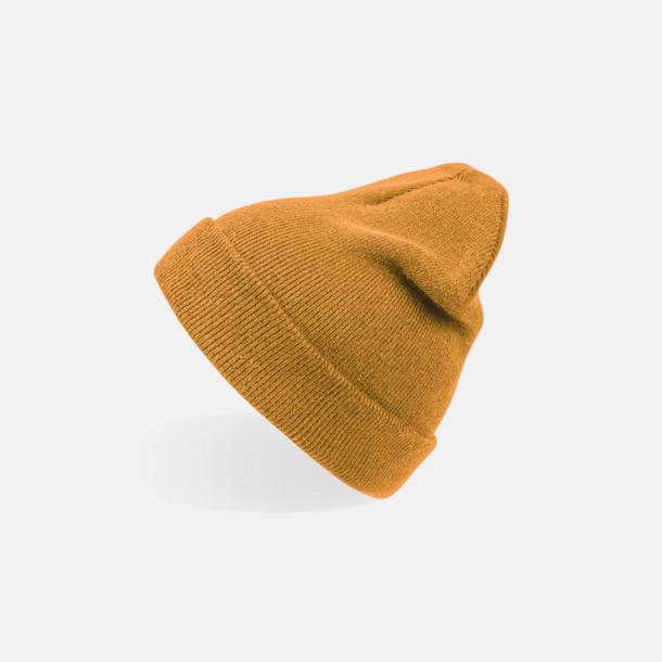 Mustard (vuxen) Beaniemössor för vuxna & barn - med reklamlogo