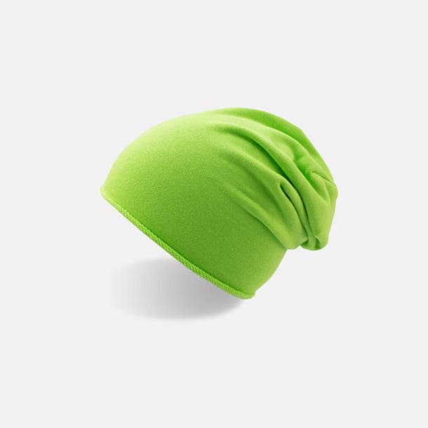 Green Fluo Oversize barnmössor med reklamlogo