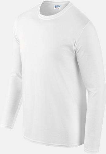 Billiga, långärmade t-shirts med reklamtryck