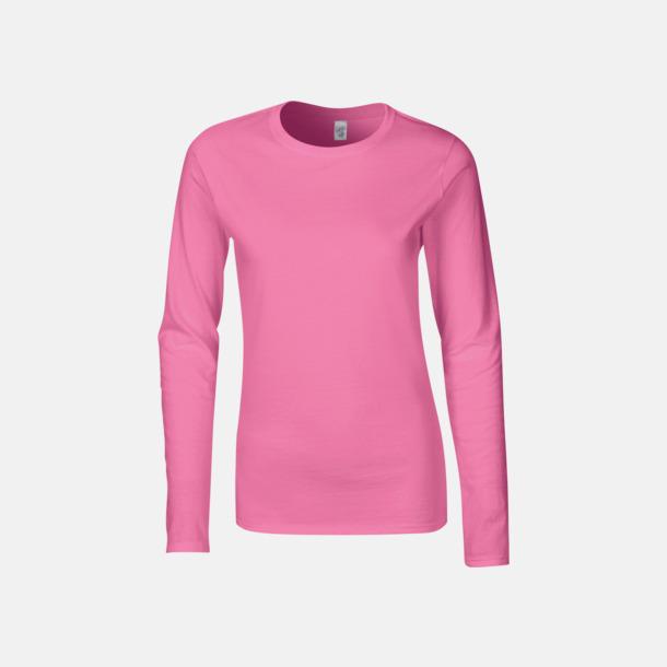 Azalea (dam) Billiga, långärmade t-shirts med reklamtryck