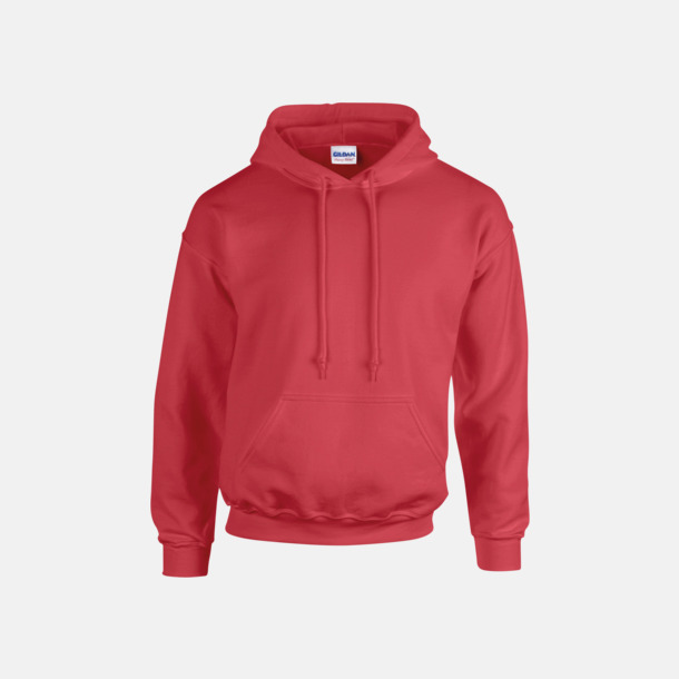 Antique Cherry Red heather (endast vuxen) Vuxen- & barn hoodies med reklamtryck