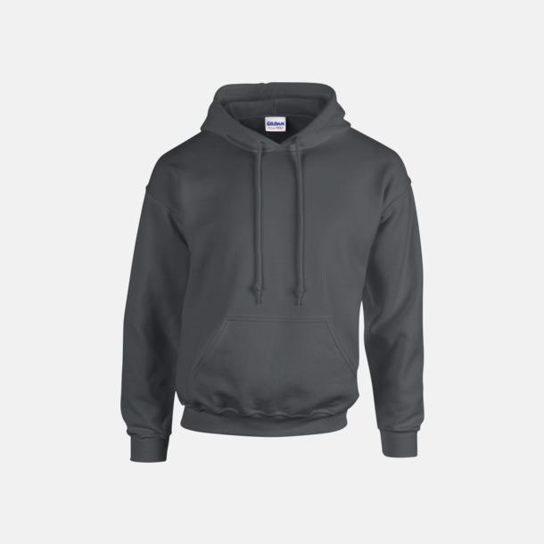 Charcoal solid (endast vuxen) Vuxen- & barn hoodies med reklamtryck