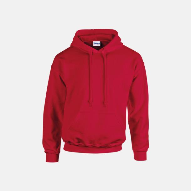Cherry Red (endast vuxen) Vuxen- & barn hoodies med reklamtryck