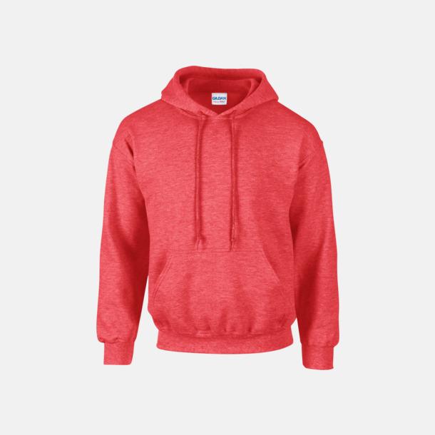 Heather Sport Scarlet Red (vuxen) Vuxen- & barn hoodies med reklamtryck
