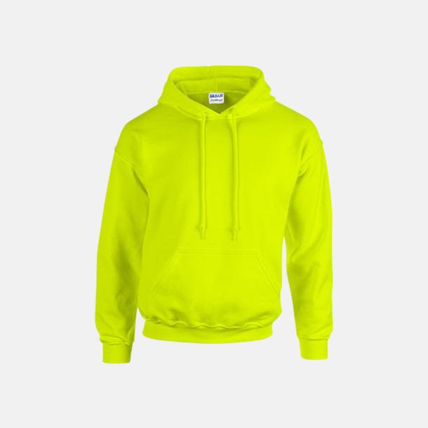 Safety Green (endast vuxen) Vuxen- & barn hoodies med reklamtryck