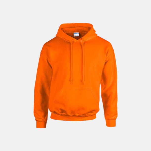Safety Orange (endast vuxen) Vuxen- & barn hoodies med reklamtryck