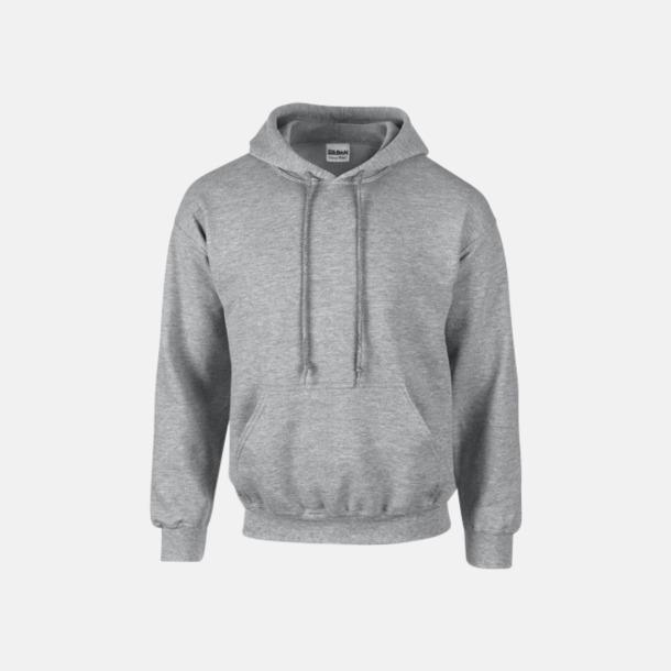 Sport Grey heather (vuxen) Vuxen- & barn hoodies med reklamtryck
