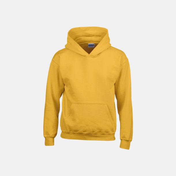 Gold (barn) Vuxen- & barn hoodies med reklamtryck