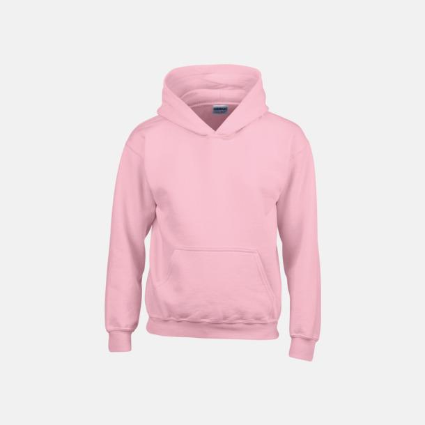 Ljusrosa (barn) Vuxen- & barn hoodies med reklamtryck