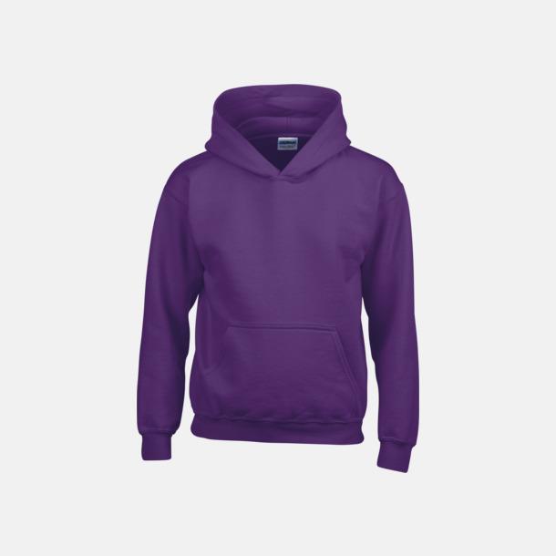 Lila (barn) Vuxen- & barn hoodies med reklamtryck