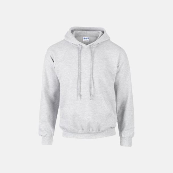 Ash (heather) Unisex hoodies från Gildan med reklamtryck