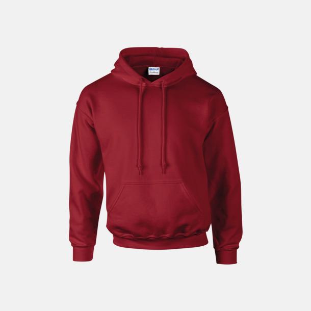 Cardinal Red Unisex hoodies från Gildan med reklamtryck