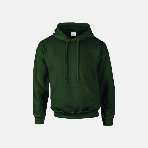 Forest Green Unisex hoodies från Gildan med reklamtryck