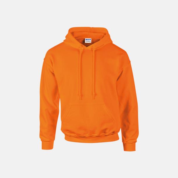 Safety Orange Unisex hoodies från Gildan med reklamtryck