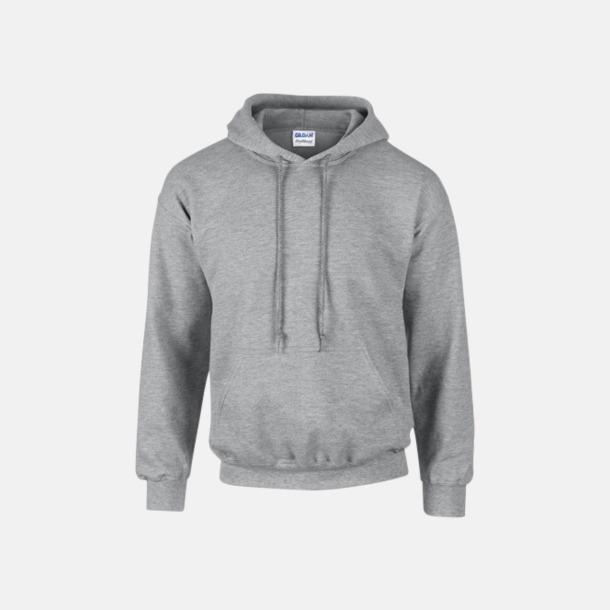 Sport Grey (heather) Unisex hoodies från Gildan med reklamtryck
