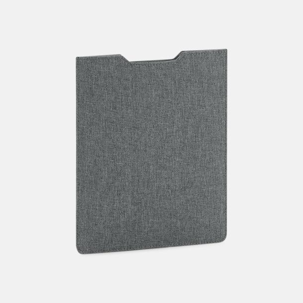 Grey Marl iPad-fodral med reklamtryck