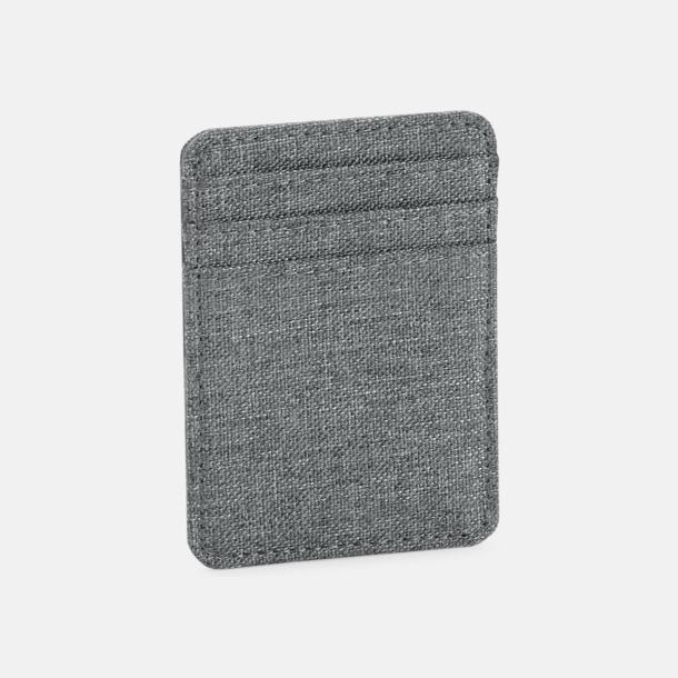 Grey Marl Snygga korthållare med reklamtryck