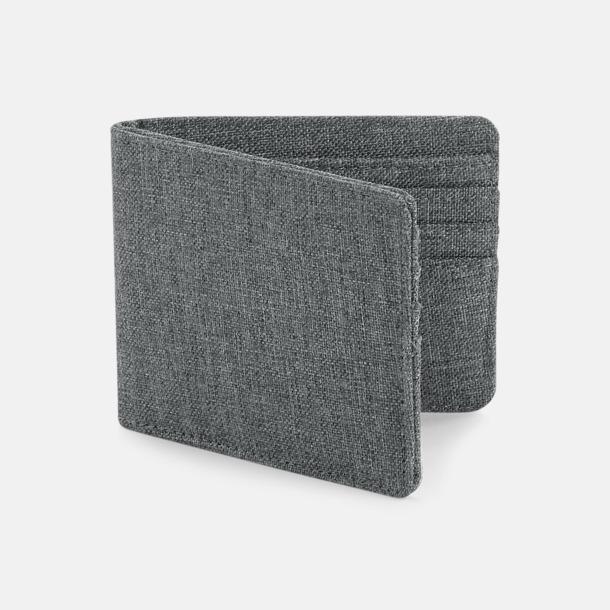 Grey Marl Plånbok för upp till 6 kort - med reklamtryck