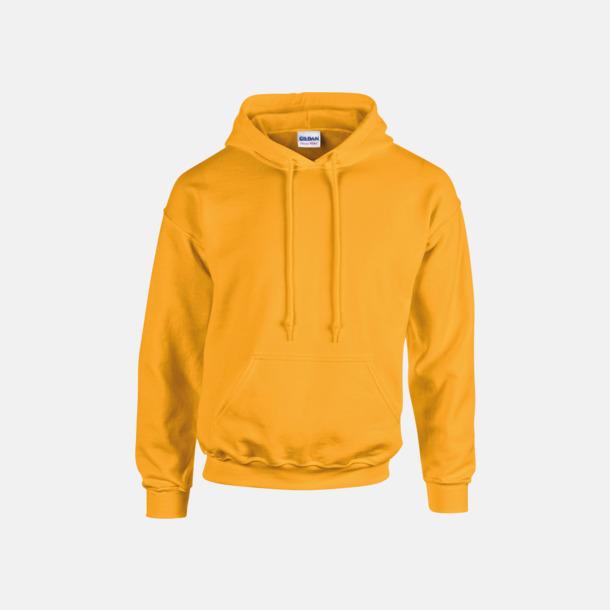 Gold (vuxen) Vuxen- & barn hoodies med reklamtryck