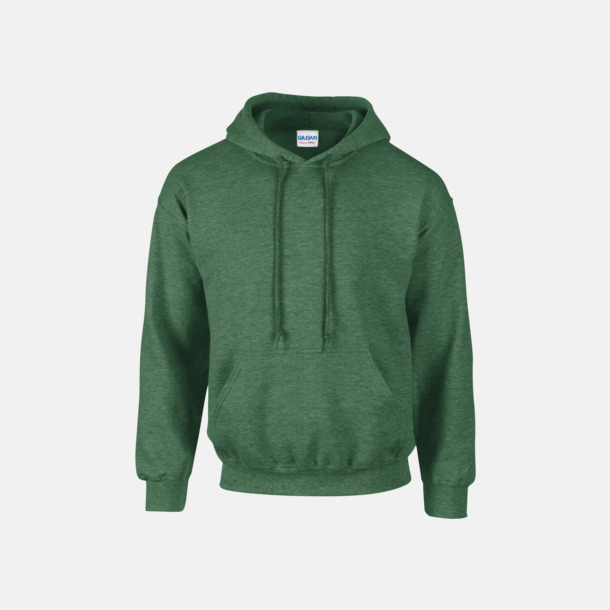 Heather Sport Dark Green (vuxen) Vuxen- & barn hoodies med reklamtryck