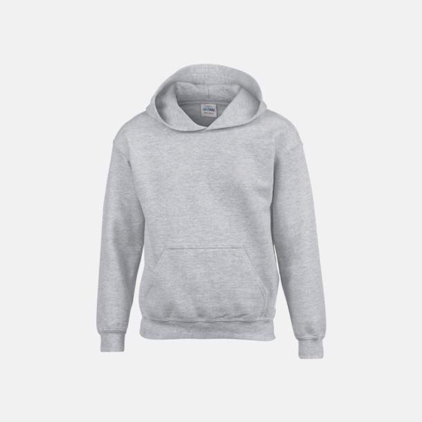 Sport Grey heather (barn) Vuxen- & barn hoodies med reklamtryck