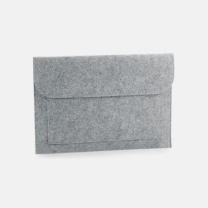 Laptopfodral i filt med reklamtryck