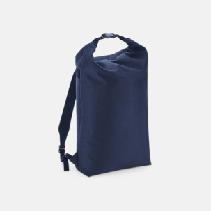 Vattenavvisande roll-top ryggsäckar med reklamtryck