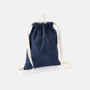 Coola jeans gympapåsar med reklamtryck