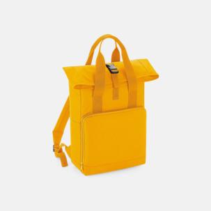 Roll-top ryggsäckar med dubbla handtag - med reklamtryck