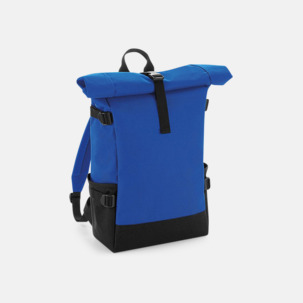 Flerfärgade roll-top väskor med reklamtryck