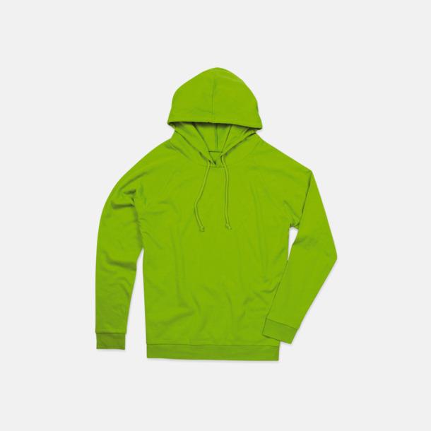Kiwi Green Unisex hooded sweatshirts i 100 % bomull med reklamtryck
