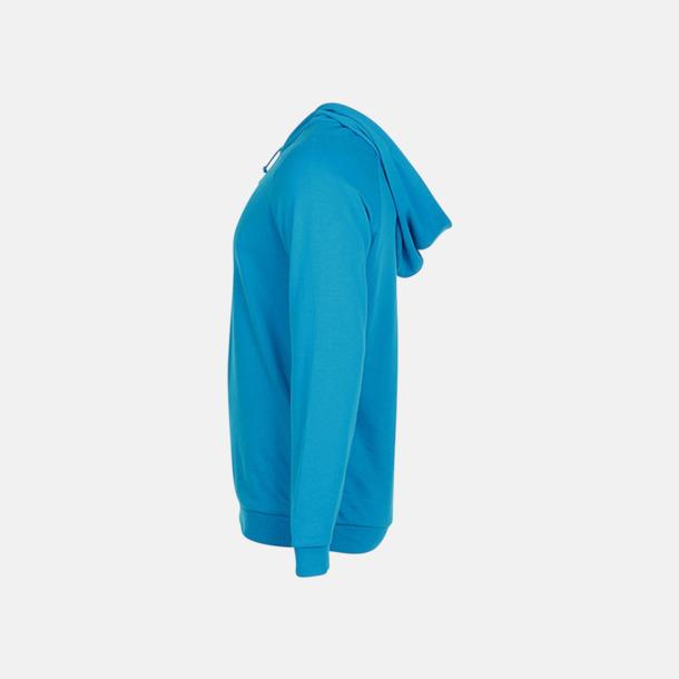 Unisex hooded sweatshirts i 100 % bomull med reklamtryck