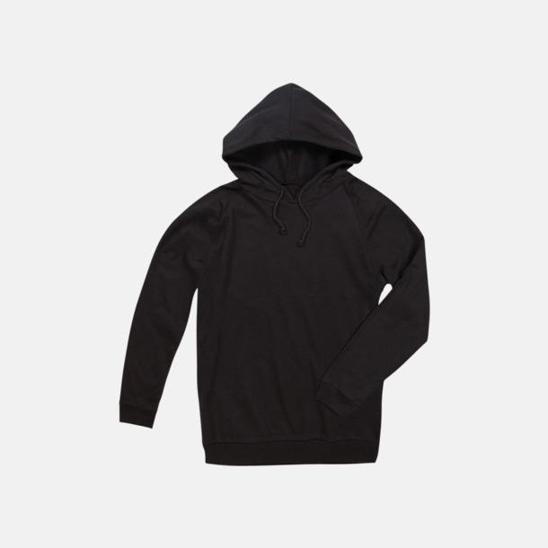 Black Opal Unisex hooded sweatshirts i 100 % bomull med reklamtryck