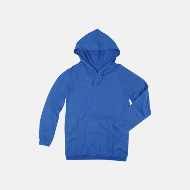 Bright Royal Unisex hooded sweatshirts i 100 % bomull med reklamtryck