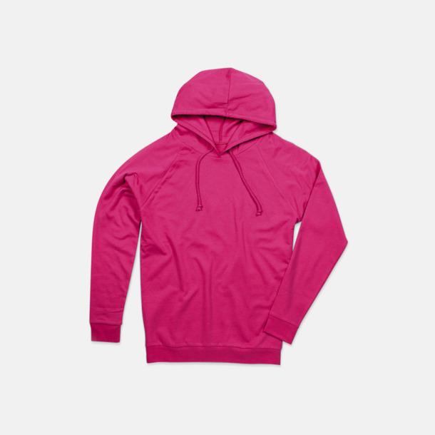 Sweet Pink Unisex hooded sweatshirts i 100 % bomull med reklamtryck