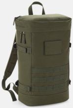 Militär ryggsäckar med reklamtryck