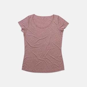 Extra stora dam t-shirts med reklamtryck