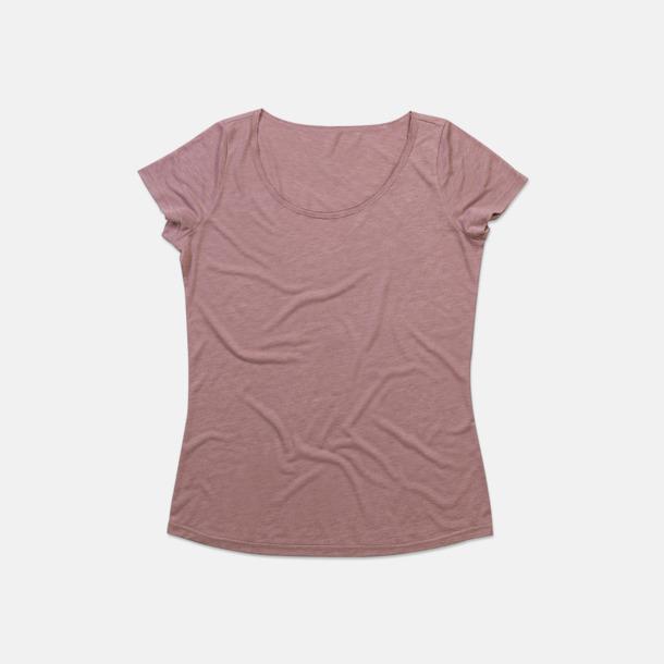 Vintage Rose Extra stora dam t-shirts med reklamtryck
